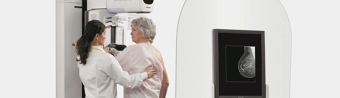 Mammografia con Tomosintesi, visita al seno